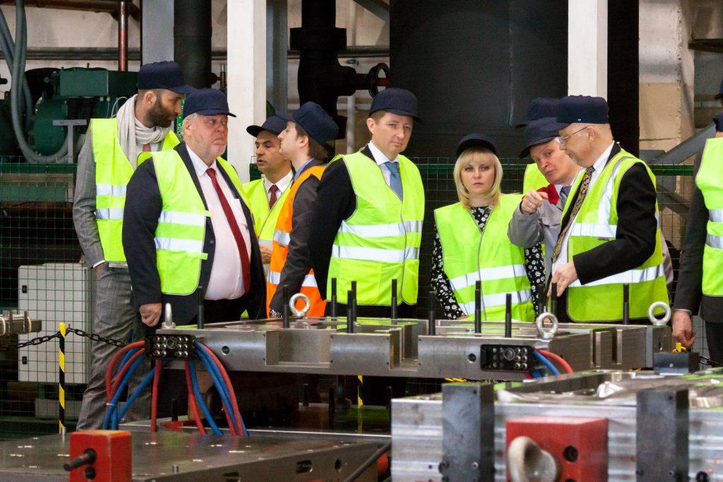 Открытие завода г.Клин