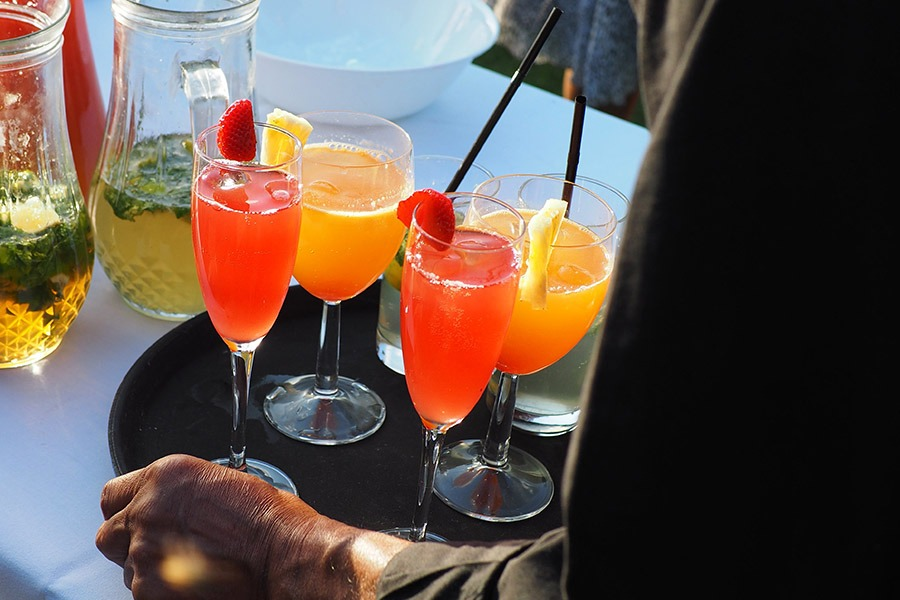 Безалкогольный коктейль медовый месяц