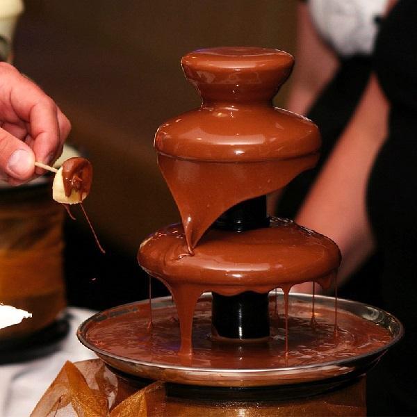 Подходящий шоколад для фонтана