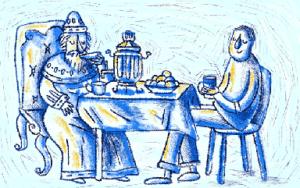 История чая в России
