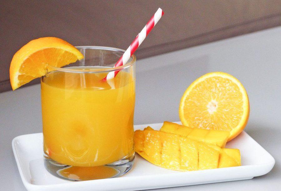 Готовим апельсиновый фреш