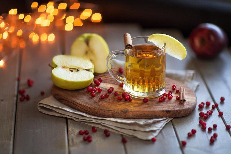 Как приготовить яблочный глинтвейн