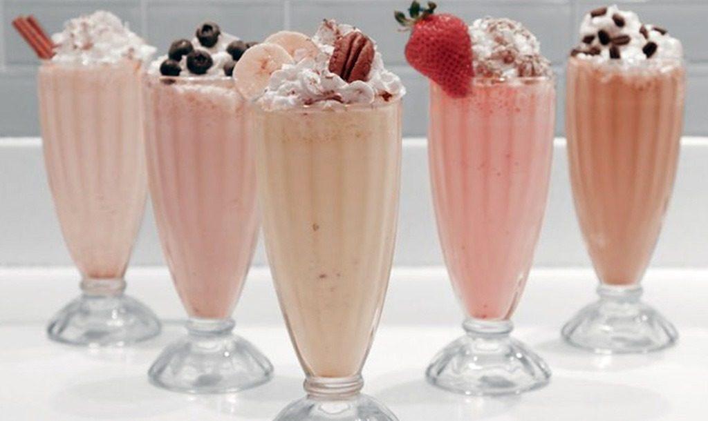 Классические вариации молочного коктейля