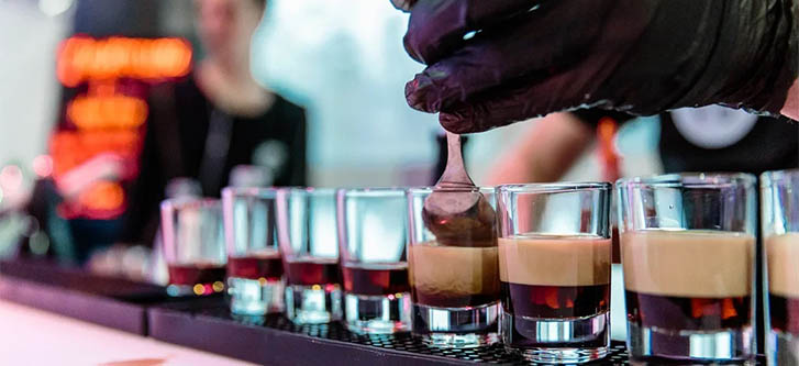 Мастер класс по коктейлям в Москве