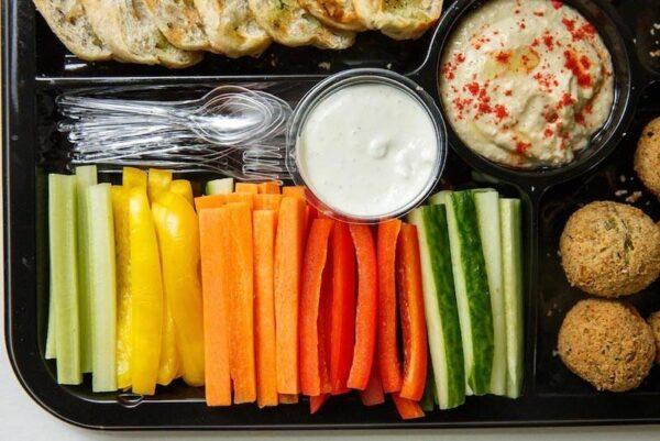 Вегетарианский сет с доставкой