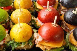 Заказать сет минибургеров