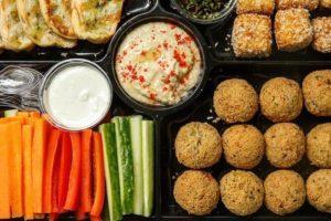 Заказать вегетарианский сет