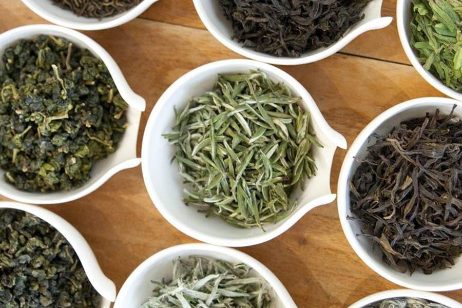 Зеленый, черный и белый китайские чаи